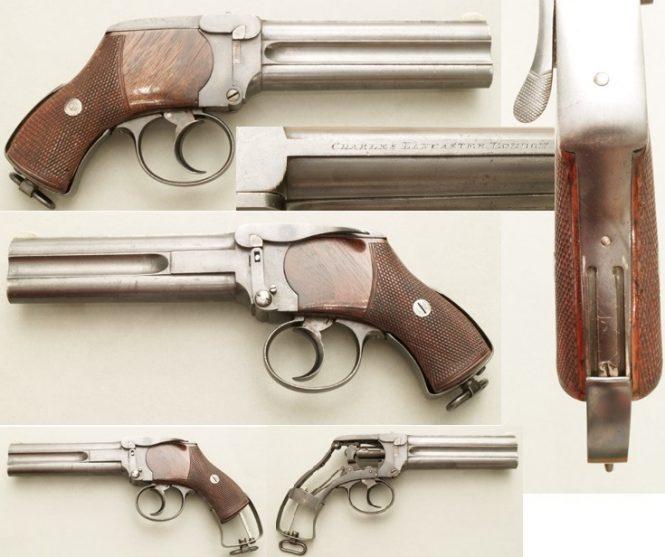 Charles Lancaster Pistols