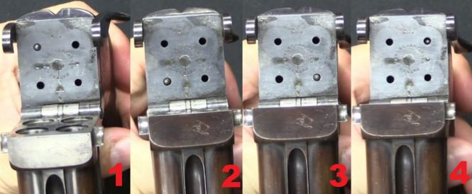Charles Lancaster Four Barreled Pistol