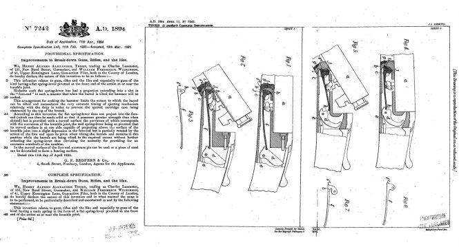 Henry A. A. Thorn Patent