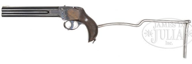Charles Lancaster Over-Under Howdah Pistol