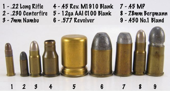 cartridge .577 Revolvers