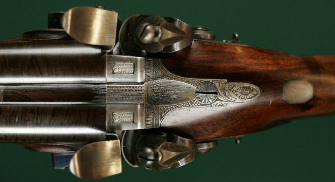 Howdah Flintlock Pistol