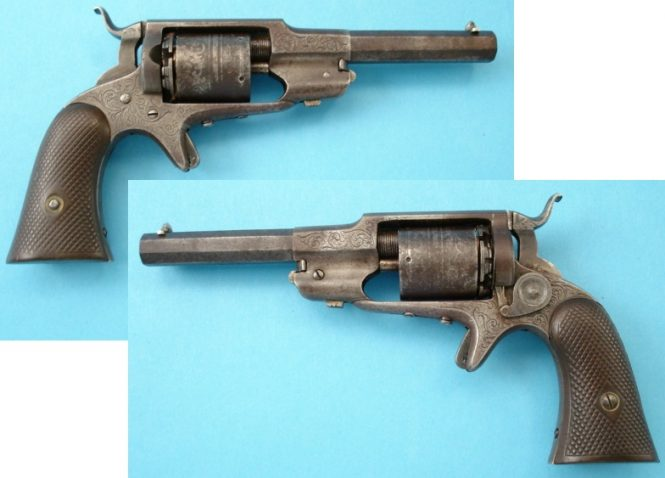 Remington-Beals Third Model Pocket Revolver Converesions