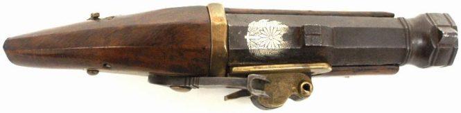 Small Japanese Matchlock pistol