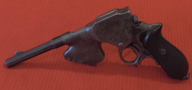 Laumann Model 1891 Repeating Pistol