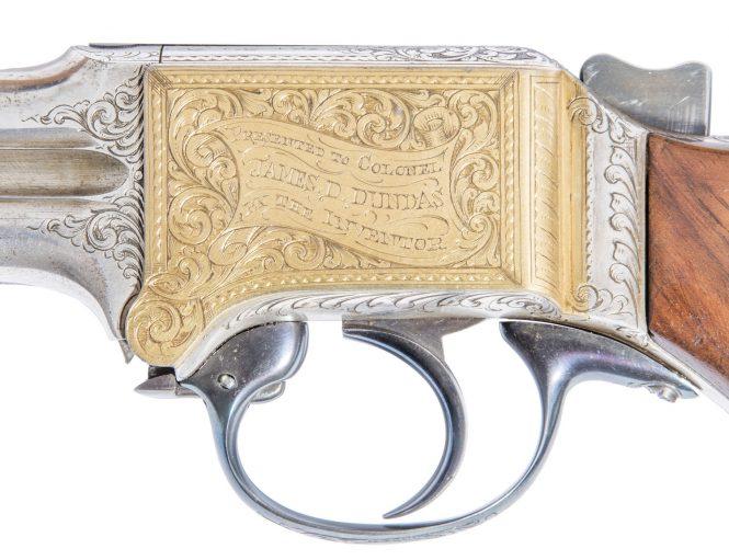 Четырехствольный пистолет Митральеза Мартина