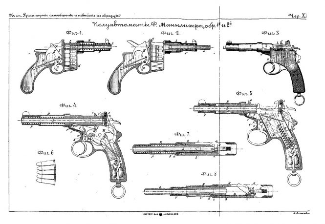 Чертежи к книге Ручное оружие самообороны и новейшие образцы