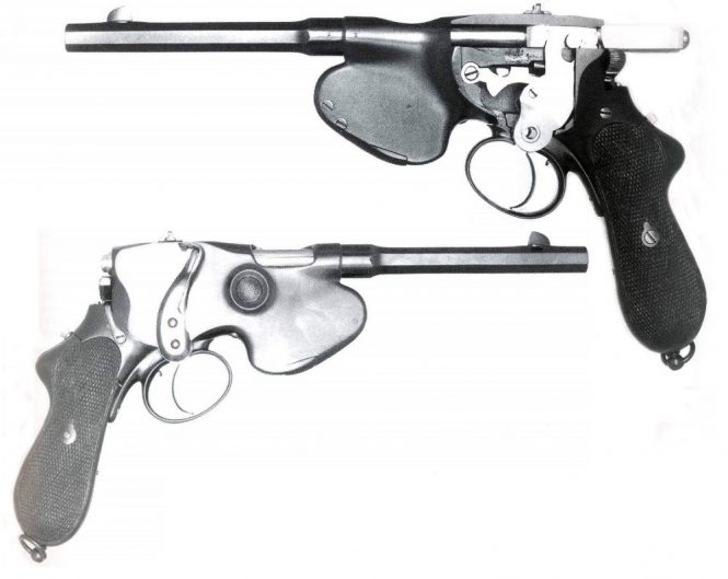 Laumann Model 1892 Semiautomatic Pistol
