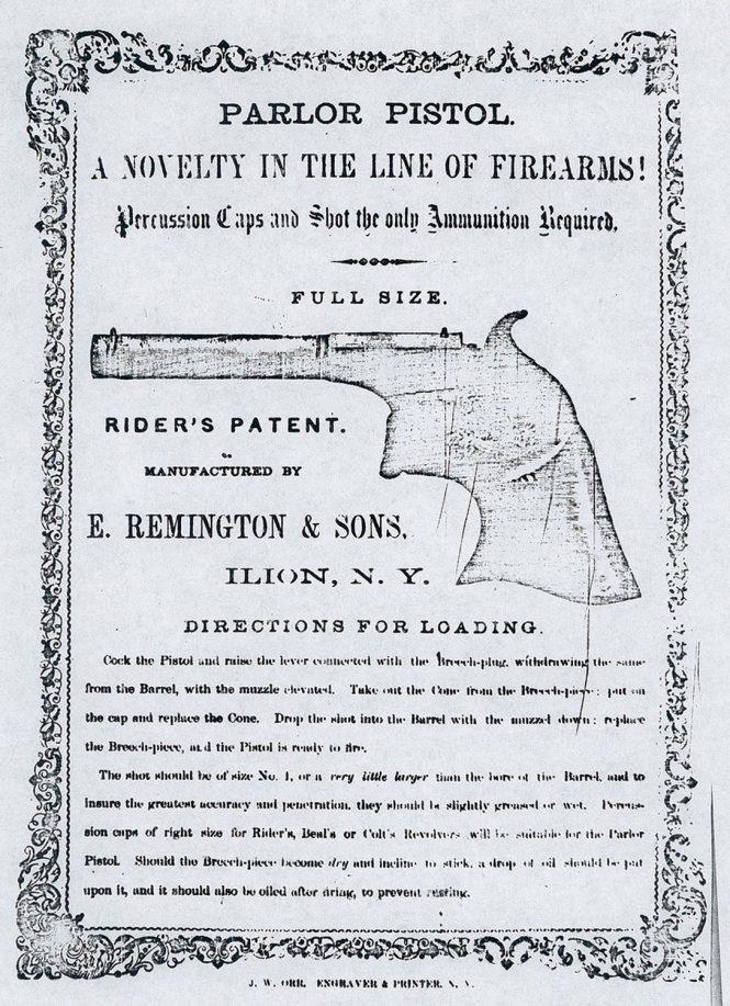Remington Parlor Pistol
