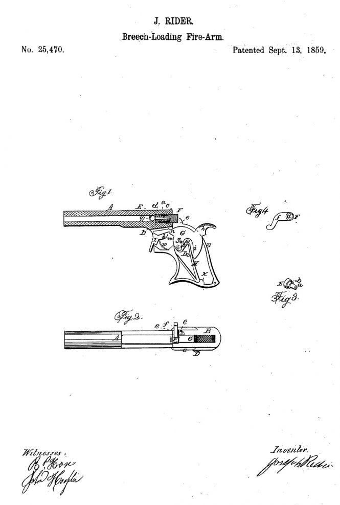 """Remington """"Parlor Pistol"""" Derringer"""