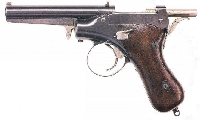 Прототип пистолет Сальватора-Дормуса образца 1893/1894 года