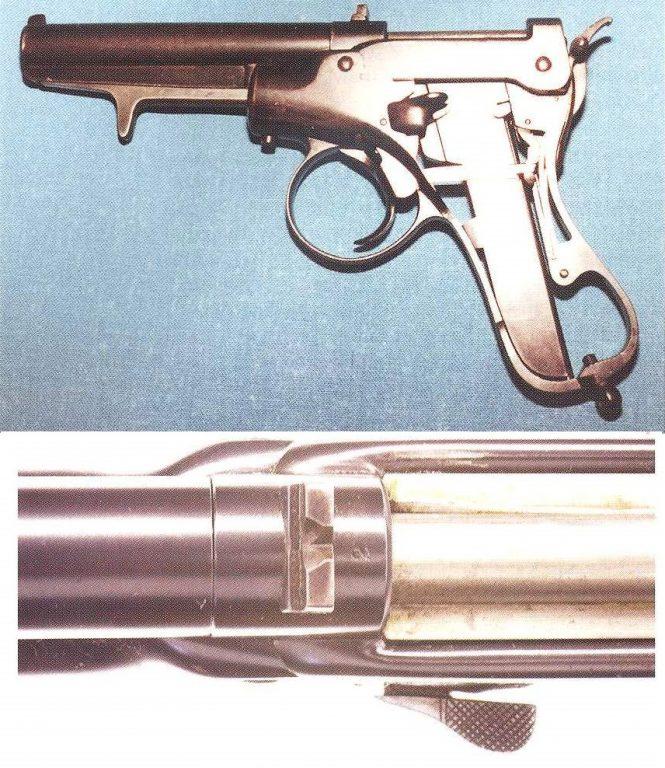 Salvator Dormus Semiautomatic Pistol Prototyp 1893/1894