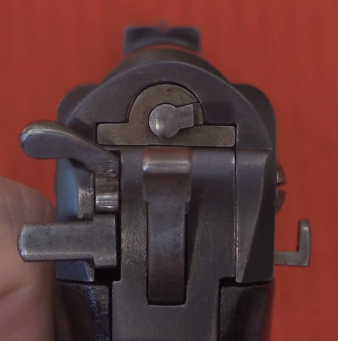 Самозарядный пистолет Сальватора-Дормуса образца 1896-1897 года