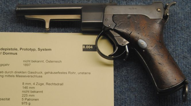 Пистолет Сальватора-Дормуса образца 1896-1897 года