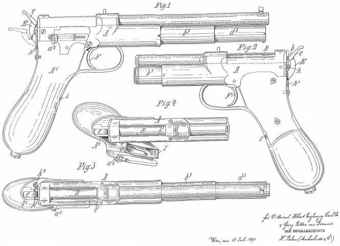Patent Salvator Dormus Pistol