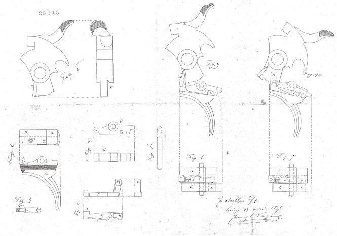 Patent Nagant №39340