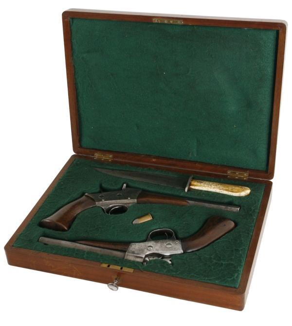 Remington Rolling Block Pistol in box