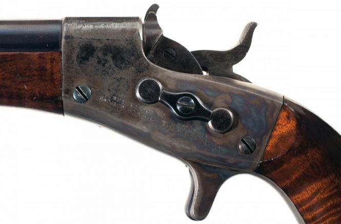 Remington 1865 Navy Rolling Block Pistol