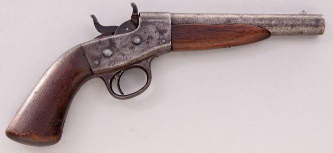 Remington 1867 Navy Rolling Block Pistol