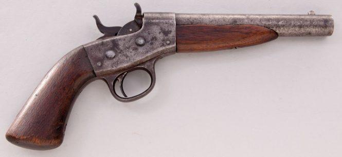 Remington 1867 Navy Rolling Block Pistol
