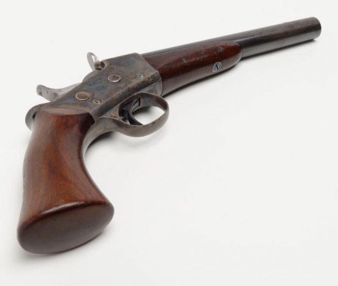 Пистолет Ремингтон роллинг-блок