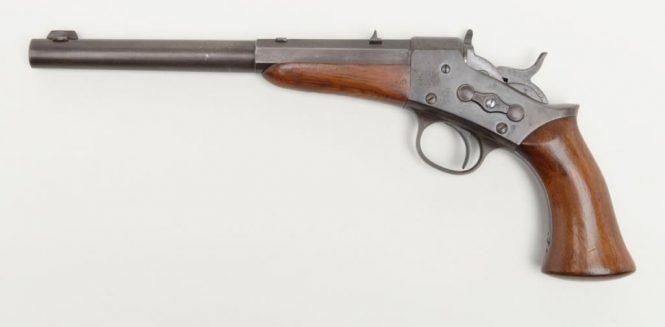 Remington 1891 Target Rolling Block Pistol