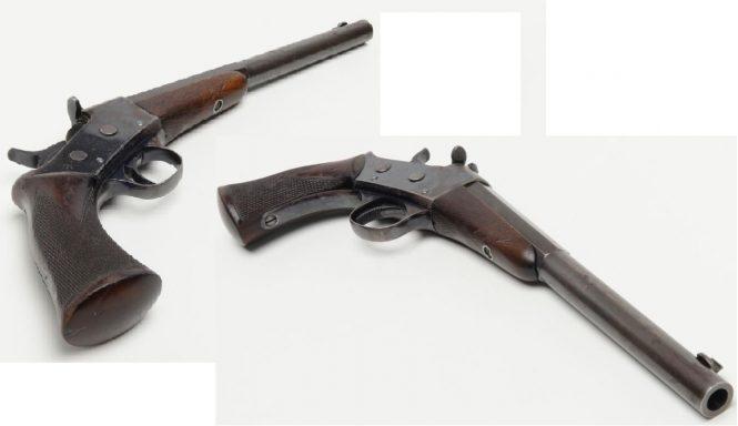 Remington 1901 Target Rolling Block Pistol