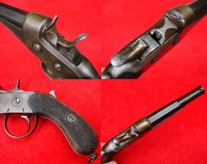 European pistol Rolling Block