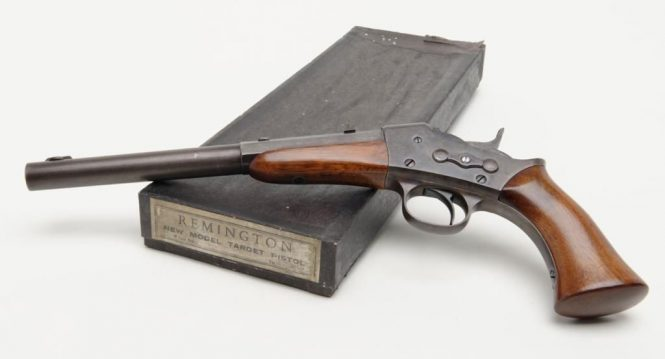 Remington Rolling Block Pistol