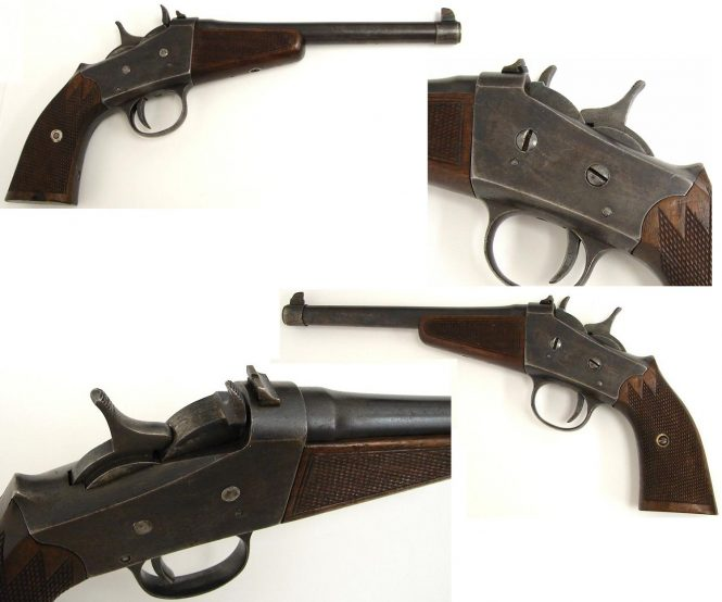 Rolling Block Pistol