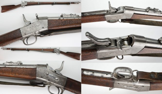 Rolling Block Army Rifle