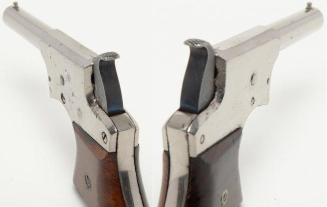 Remington Vest Pocket Pistol (Saw Handle Derringer), .22 cal