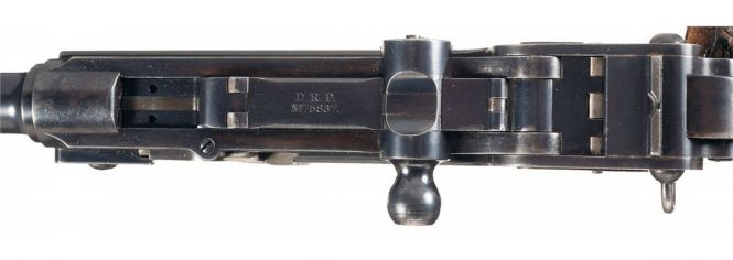Borchardt Construktion 1893 Pistol marking