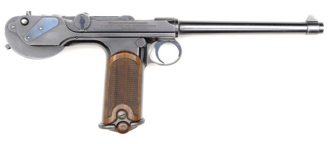 Borchardt Construktion 1893 Pistol