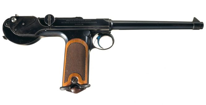 Patent Borchardt C93 Pistol