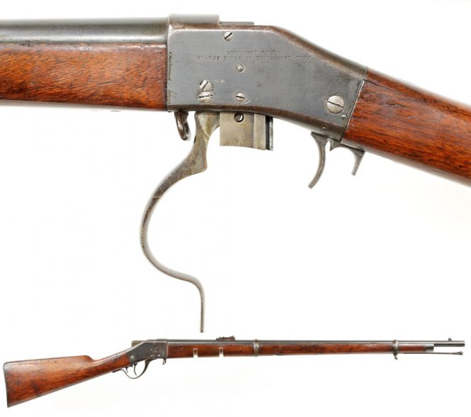 Sharps-Borchardt rifle Model 1878