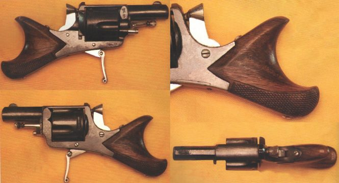 "Fraipont Emile revolver ""Clic-Clac"" or ""fish tail"""