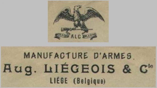 mark Auguste LIEGEOIS & Cie LIEGE
