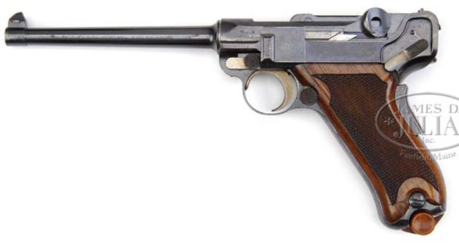 Borchardt Luger 1900 Dutch Trial