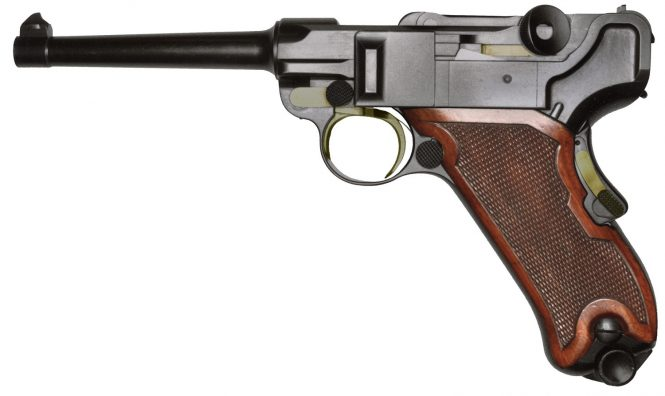 prototype Borchardt Luger pistol