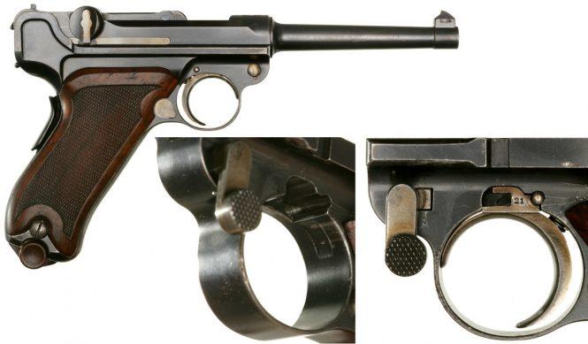 Borchardt Luger pistol