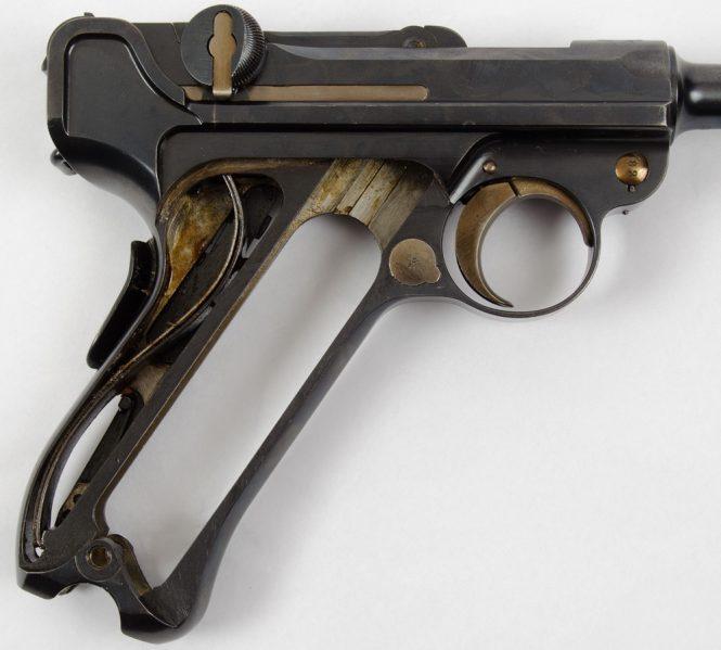 Swiss Army Ordonnanzpistole 1900 Parabellum