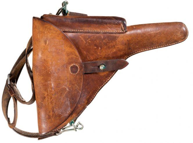 Holster 1900 Swiss Luger pistol