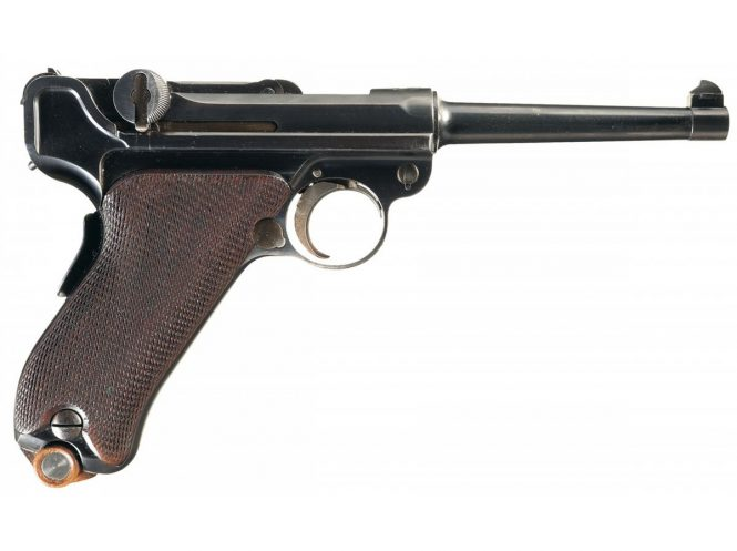 DWM Model 1900 Swiss Commercial Luger Pistol