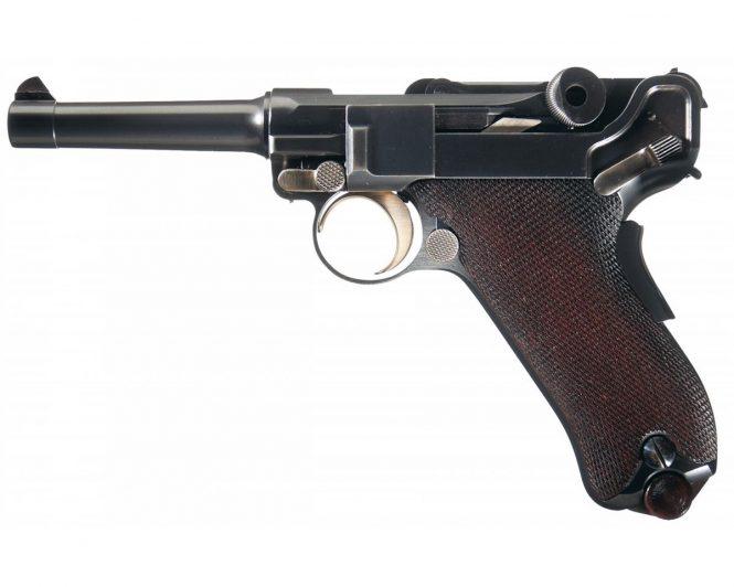 DWM Model 1902 Commercial Luger Pistol