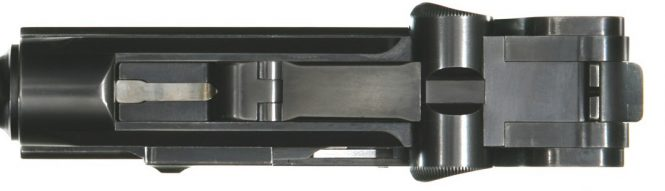 2nd model prototype Borchardt Luger pistol