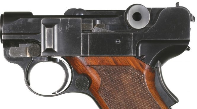 2nd model prototype Borchardt Luger pistol