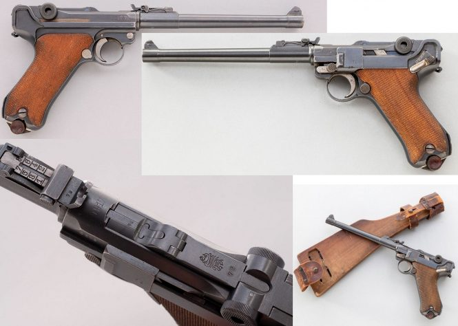 Long or Artillery Models Luger