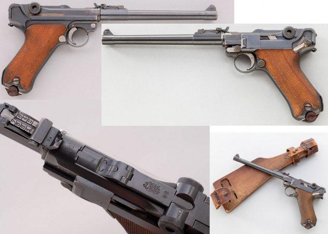 Long or Artillery Models Luger