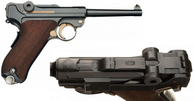 Luger Mauser Production